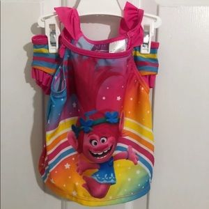 5/$45 New Little Girl Size 3 Swimsuit Two Piece